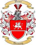 Hauer Family Crest from Germany