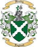 Hauley Family Crest from England