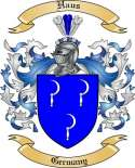 Haus Family Crest from Germany