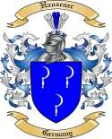 Hausener Family Crest from Germany