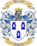Havenell Family Crest from England