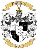 Hawardine Family Crest from England