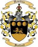 Hawkins Family Coat of Arms from Scotland