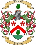 Hawten Family Coat of Arms from England