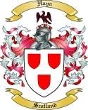 Haya Family Coat of Arms from Scotland