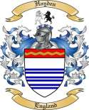 Hayden Family Coat of Arms from England