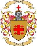 Hayden Family Crest from Ireland