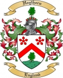 Haythorn Family Coat of Arms from England
