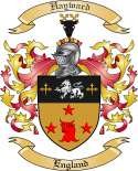Hayward Family Crest from England2