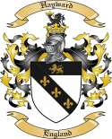 Hayward Family Crest from England