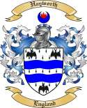 Hayworth Family Coat of Arms from England