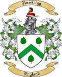 Hazelrigg Family Coat of Arms from England