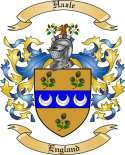 Hazle Family Crest from England