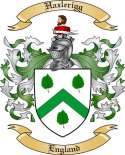 Hazlerigg Family Coat of Arms from England