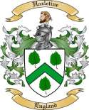 Hazletine Family Crest from England