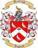 Headleigh Family Coat of Arms from England