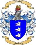 Healey Family Crest from Ireland