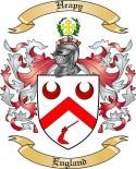 Heapy Family Coat of Arms from England2