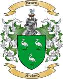 Hearne Family Crest from Ireland