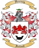 Hearney Family Crest from Ireland