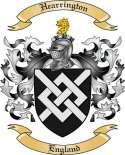 Hearrington Family Coat of Arms from England