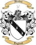 Heaton Family Crest from England
