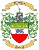Heavrin Family Crest from Ireland1