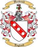 Heawood Family Crest from England