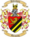 Hebenholz Family Coat of Arms from Germany