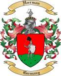 Heerman Family Crest from Germany