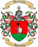 Heermann Family Crest from Germany