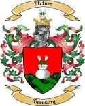 Hefner Family Crest from Germany