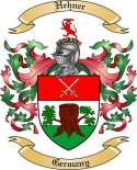 Hehner Family Crest from Germany