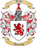 Heide Family Crest from Germany