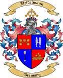 Heidelmann Family Crest from Germany