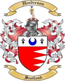 Henderson Family Coat of Arms from Scotland