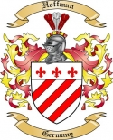 Hoffman Family Coat of Arms from Germany2