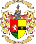 Hoffman Family Coat of Arms from Germany
