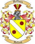 Hoffman Family Coat of Arms from Holland