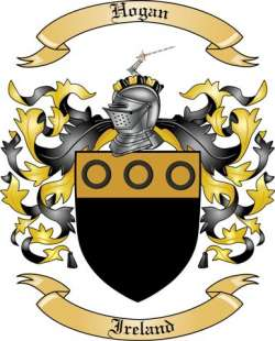 Hogan Family Coat of Arms from Ireland