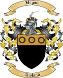 Hogan Family Coat of Arms from Ireland