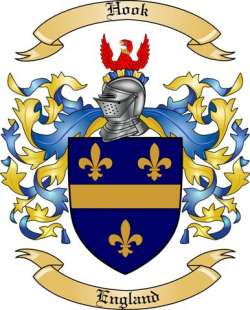 Hook Family Crest From England By The Tree Maker