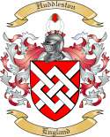 Huddleston Family Coat of Arms from England