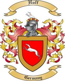 Huff Family Coat of Arms from Germany