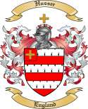 Hussee Family Coat of Arms from England