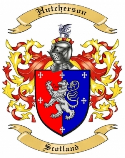 Hutcherson Family Crest From Scotland By The Tree Maker