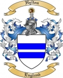 Hylton Family Coat of Arms from England