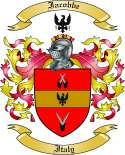 Iacobbe Family Crest from Italy