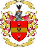 Iacobo Family Coat of Arms from Italy