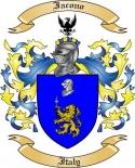 Iacono Family Coat of Arms from Italy